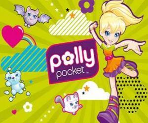 Układanka Polly Pocket rezygnować twój pieszczochy