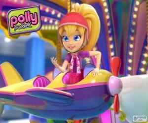 Układanka Polly Pocket w jednym z jego przygody