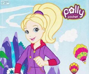 Układanka Polly Pocket z ubranie sportowe