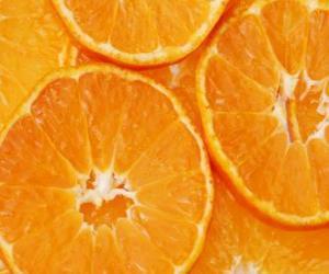 Układanka Pomarańczowy