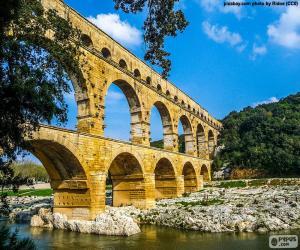 Układanka Pont du Gard, Francja