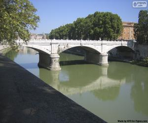 Układanka Ponte Giuseppe Mazzini, Rome