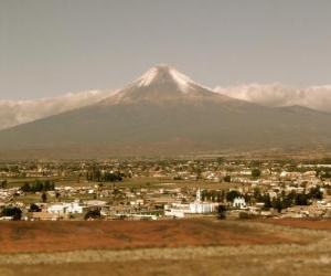 Układanka Popocatepetl Meksyk