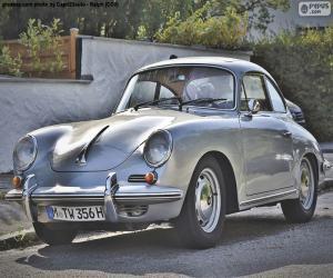 Układanka Porsche 356 w C