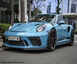 Układanka Porsche 911 GT3 RS