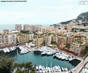 Układanka Port Monako