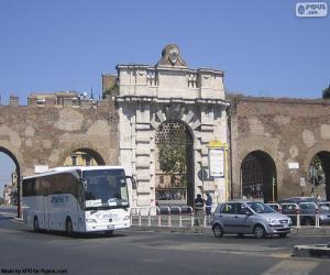 Układanka Porta San Giovanni, Rzym
