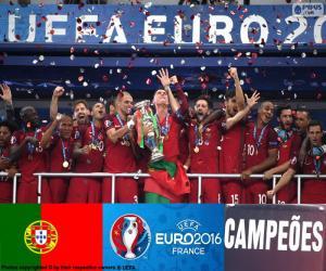 Układanka Portugalia, mistrz Euro 2016