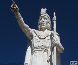 Układanka Posąg Manco Capac