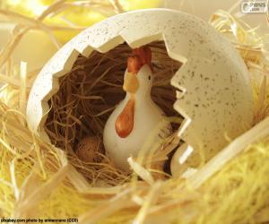 Układanka Postać Wielkanocy