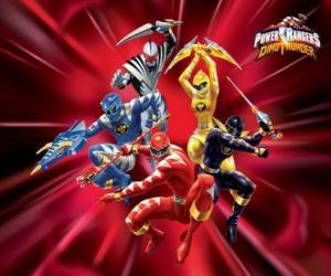 Układanka Power Rangers Dino Grzmot