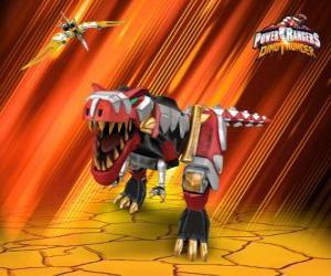 Układanka Power Rangers Dino Thunder