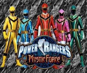 Układanka Power Rangers Mistyczna Moc