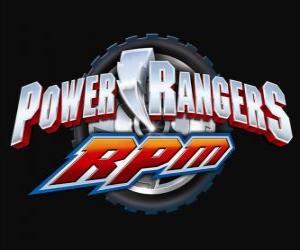 Układanka Power Rangers RPM Logo