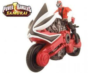 Układanka Power Rangers Samurai cyklu Red