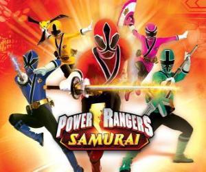 Układanka Power Rangers Samurai