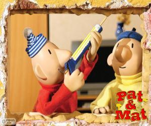 Układanka Pracy Pat i Mat