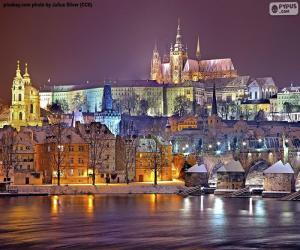 Układanka Praga nocą, Czechy