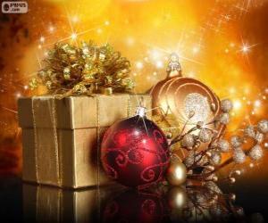 Układanka Prezent na Boże Narodzenie