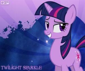 Układanka Princess Twilight Sparkle jest super inteligentny