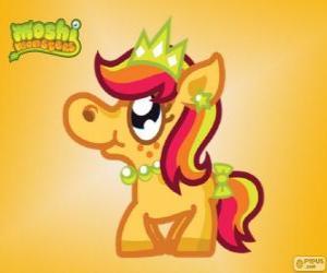 Układanka Priscilla. Moshi Monsters. Pony księżniczka