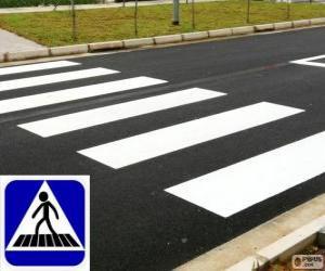 Układanka Przejście dla pieszych