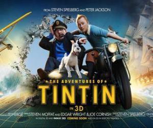 Układanka Przygody Tintina