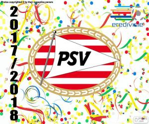 Układanka PSV Eindhoven, Eredivisie 2017-18