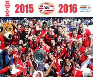 Układanka PSV Eindhoven, mistrz 2015-2016