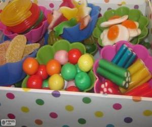 Układanka Pudełko cukierków