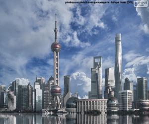 Układanka Pudong, Szanghaj