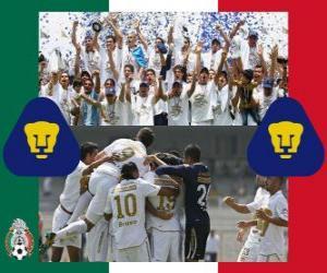 Układanka Pumas UNAM, Mistrz Clausura 2011 Meksyk
