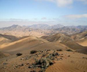 Układanka Pustyni Atacama w Chile