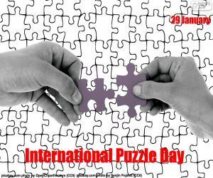 Układanka Puzzle Międzynarodowy Dzień