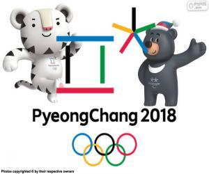 Układanka Pyeongchang 2018 Zimowych Igrzyskach Olimpijskich
