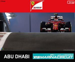 Układanka Räikkönen Grand Prix Abu Zabi 2015
