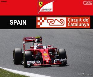 Układanka Räikkönen, Grand Prix Hiszpanii 2016