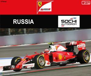 Układanka Räikkönen, Grand Prix Rosji 2016