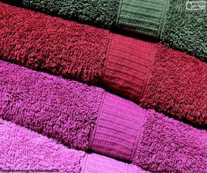 Układanka Ręczników kąpielowych