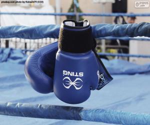 Układanka Rękawice bokserskie