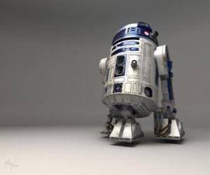 Układanka R2-D2, astromech Droid (fonetycznie zapisane Artoo-Detoo lub Artoo-Deetoo, zwany