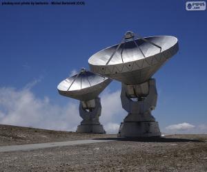 Układanka Radioteleskopy