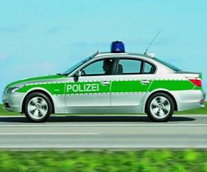 Układanka radiowóz - BMW E60 -