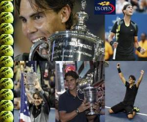 Układanka Rafael Nadal 2010 US Open
