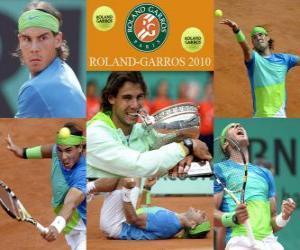 Układanka Rafael Nadal Roland Garros 2010 mistrz
