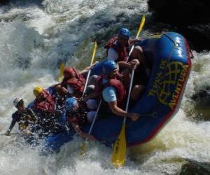 Układanka Rafting