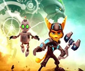 Układanka Ratchet i Clank robot