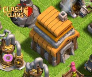 Układanka Ratusz w 5, Clash of Clans