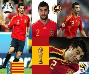 Układanka Raul Albiol (zostaje zabity przez pin) Hiszpański zespół obrony