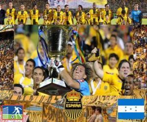 Układanka Real Club Deportivo España Champion Apertura 2010 (Honduras)